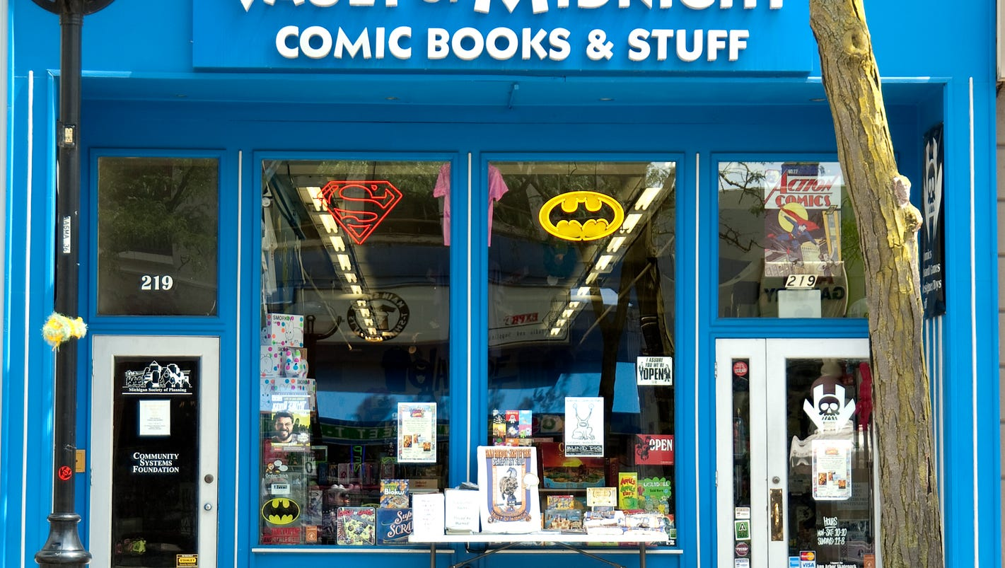 Kenosha comic book store