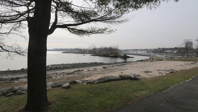 The view from Five Islands Park in New Rochelle.