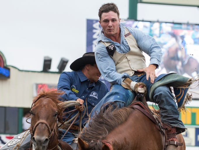 Photos Reno Rodeo Action From Sunday