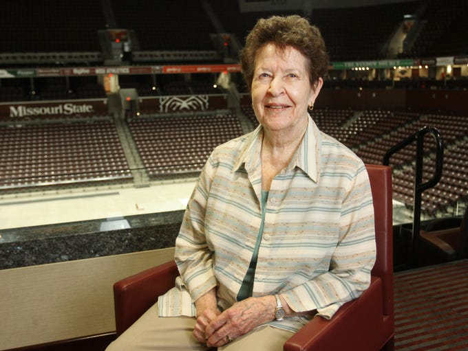 Dr. Mary Jo Wynn is the first woman to be named a Missouri Sports Legend by the Missouri Sports Hall of Fame. During her 41 years at Missouri State University, Wynn coached multiple sports and was the first director of women's athletics.