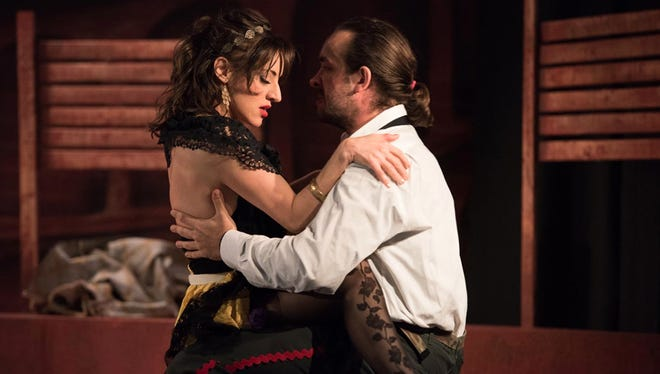 "El Paso Opera's production of the Georges Bizet classic, ""Carmen,"" featuring Mexican mezzo-soprano Sishel Claverie, is set for 7:30 p.m. Thursday and March 19 at the Abraham Chavez Theatre, Downtown."