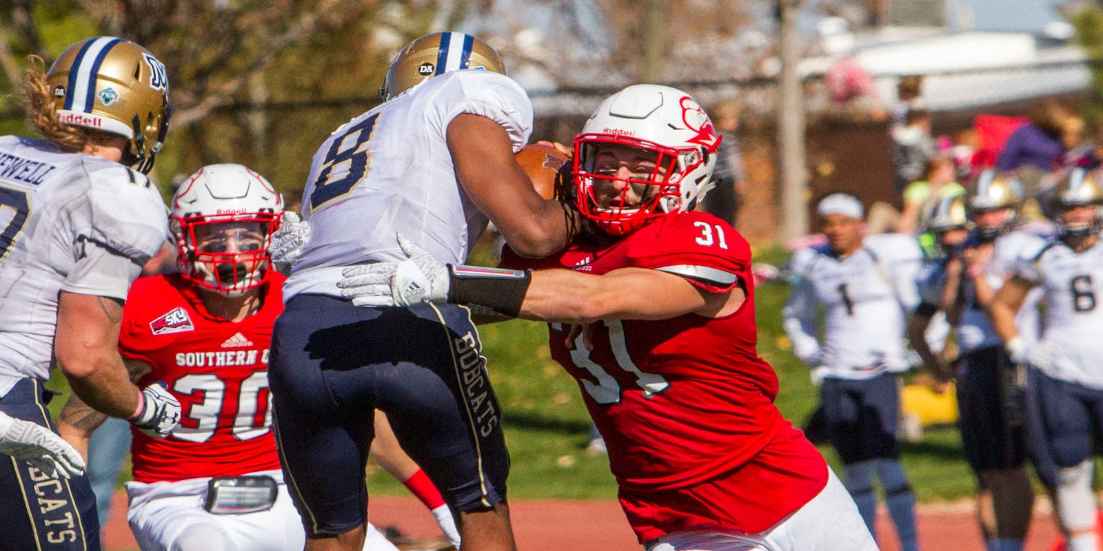 SUU football: Mitch Dalley named Big Sky defensive player of
