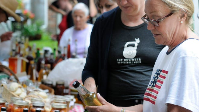 Attendees shop at last year's Monastery Vinegar Festival on at the Our Lady of the Resurrection Monastery in Union Vale. This year's festival will be from 11 a.m. to 4 p.m. July 13.
