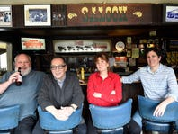 Randy Rayburn, Rick Bolsom, Deb Paquette and Margo McCormack gathered at Brown Diner to discuss the dining changes they've seen, and created, in Nashville.