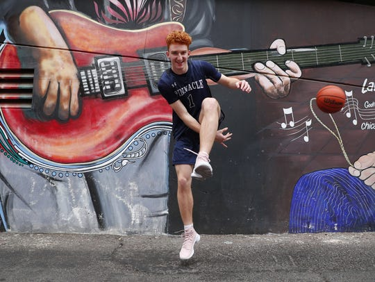 Pinnacle High School's Nico Mannion is one of the eight