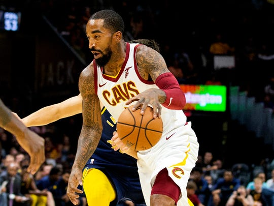 J.R. Smith has been with Cleveland since a 2015 trade from the New York Knicks. He's meeting with the Bucks on Thursday.