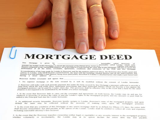 Mortgage Deed and Hand