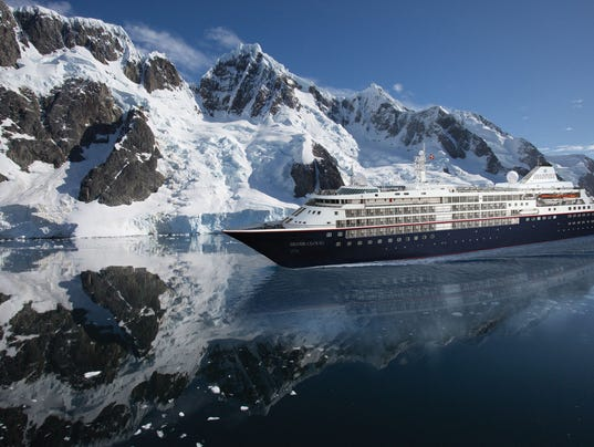 Silver Cloud Silversea Ship Revamped To Sail The Polar Regions - Cruise ship silver cloud