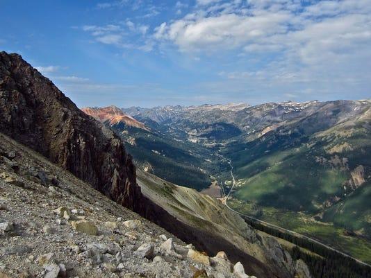 COLO Million Red Mountain Pass.  Credit  Mark Johnson, Boxcanyonblog.com