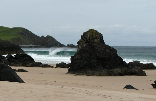 Sango Bay, Durness. (Photo: Vonda Sinclair)