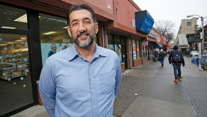 Peter Palushaj, of Thornwood, near his place of business in the Bronx.
