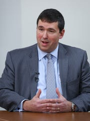 Stephen Pruitt resigned as Kentucky's education commissioner on Tuesday.