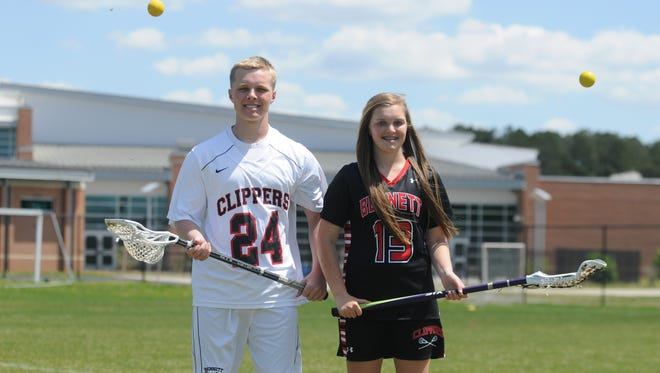 James M. Bennett's Danny and Dara Gregory come from a lacrosse background, but as he plays his final game, she is just getting started.