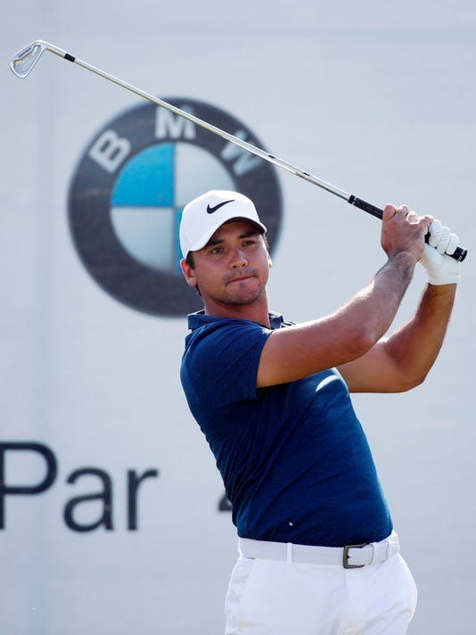Bmw Championship Jason Day Now With New Caddie Near The Top