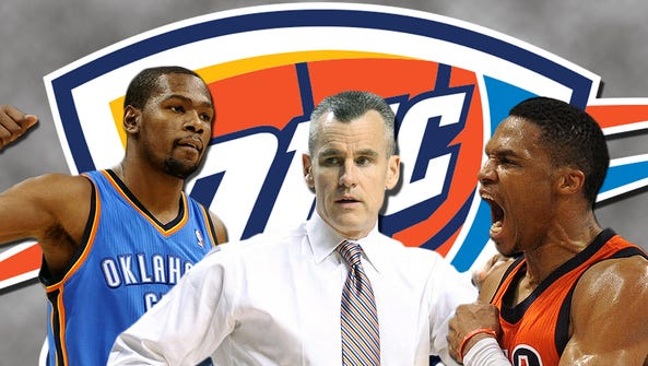 Kevin Durant and Russell Westbrook are meshing well