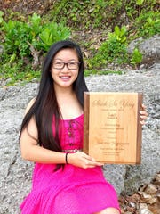 The 2016 Shieh Scholar Athlete Outstanding Community Service winner was Jeanie Nguyen. Winners were selected among 17 of Guam's best scholar athletes around the island.
