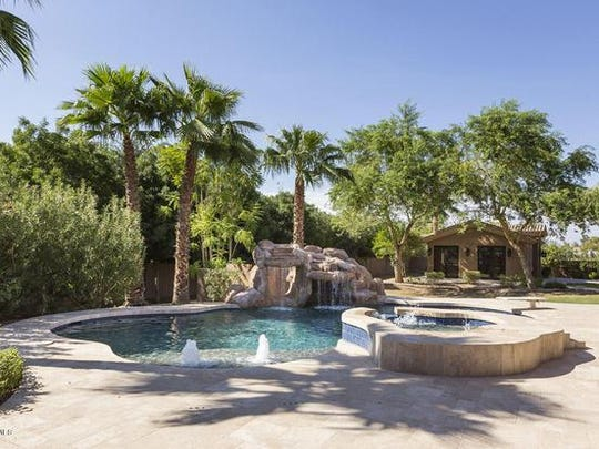 William and Kimberly Leto bought a $2.8 million, 8,007-square-foot house at La Jolla Acres in Paradise Valley.