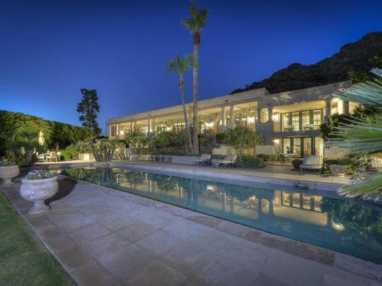 Jon and Kathy Bilstrom purchased this 9,527-square-foot home in Paradise Valley for $3.85 million.