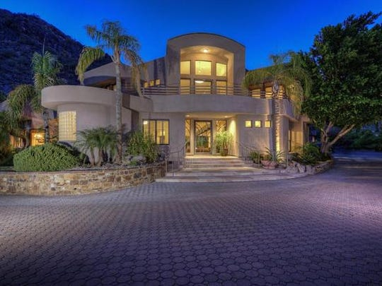 Alden and Patricia Stewart purchased this Phoenix mansion