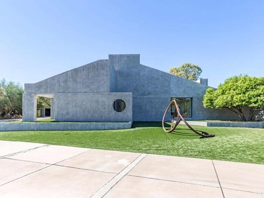 Mark Kucher paid $2.9 million in cash for this contemporary masterpiece in Paradise Valley.
