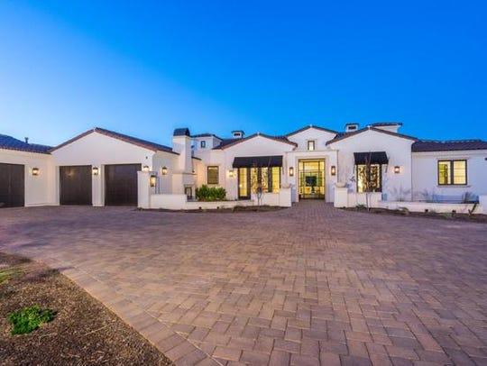Joe Sigona bought this Scottsdale estate for almost