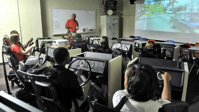 The Montgomery public school system offers driver's education classes for high school students.