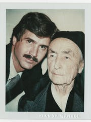 Andy Warhol: Georgia O'Keeffe and Juan Hamilton, 1980
