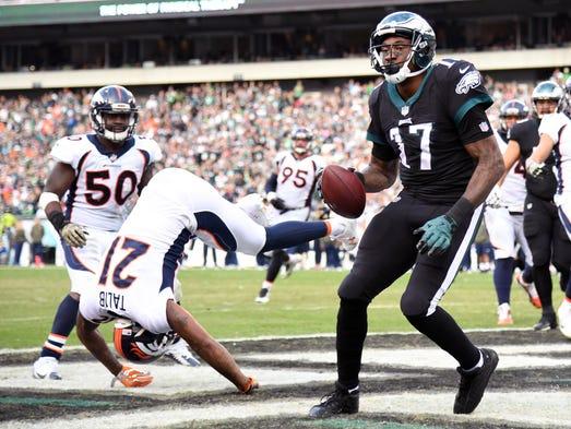 Philadelphia Eagles  wide receiver Alshon Jeffery