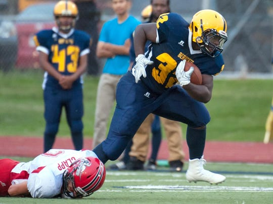 Daireo Brown and Battle Creek Central set to face city rivals Lakeview on Friday.