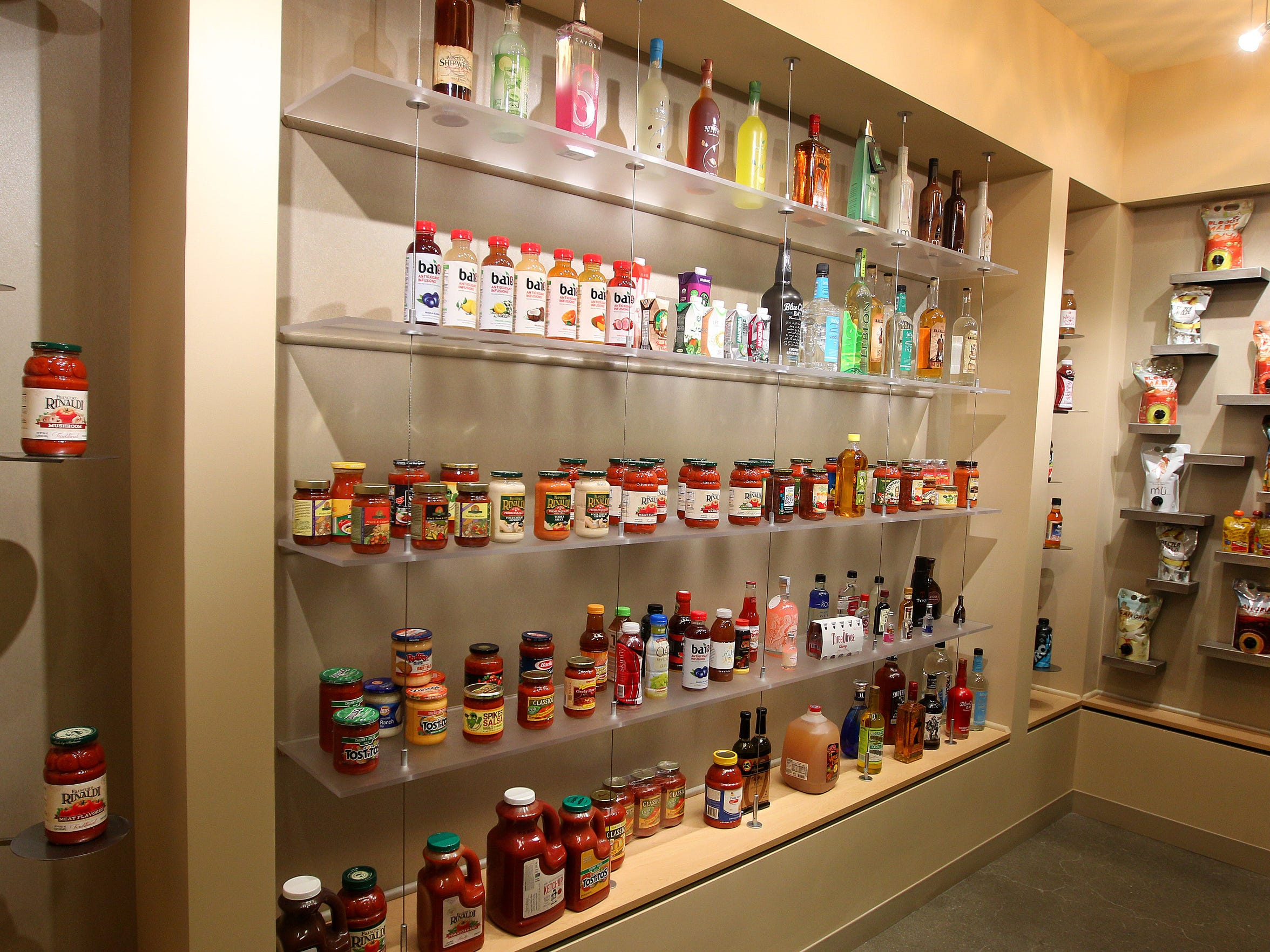 Some of the large variety of products made at LiDestri