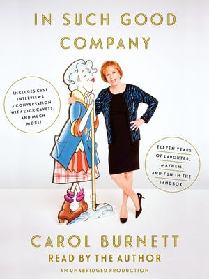 The audio book version of 'In Such Good Company' by Carol Burnett, read by the author.