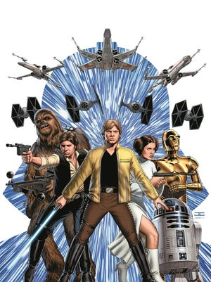 "Jason Aaron and John Cassaday team up for a new ""Star Wars"" comic book in January."
