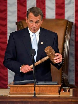 House Speaker John Boehner in 2011.