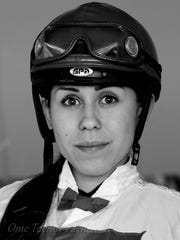 Jockey Ruby Gonzalez