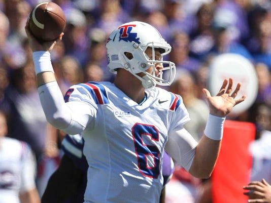 NCAA Football: Louisiana Tech at Kansas State