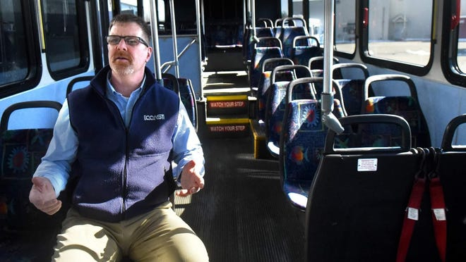 COAST Executive Director Rad Nichols said the bus service organization is ready to launch its redesign of its routes.