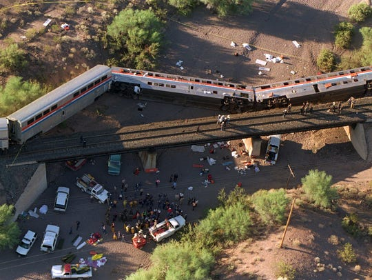 Investigators said the tracks had been tampered with,