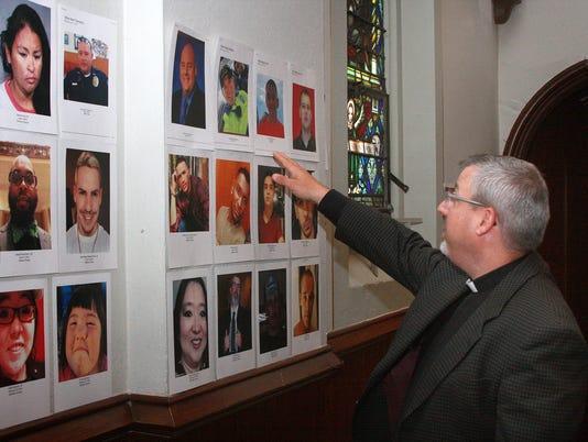 St. Thomas photos at church