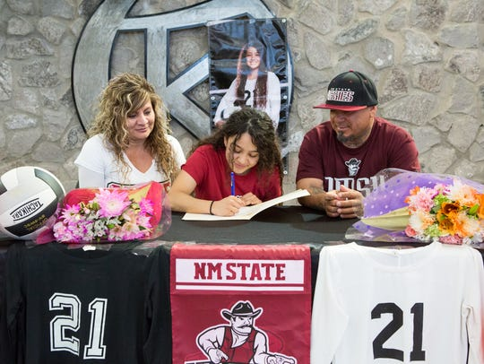 Oñate's Brenda Hernandez will walk-on to the New Mexico