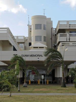 Guam Memorial Hospital, photographed on April 11, 2012.