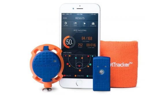 A smart gadget to analyze your basketball shots