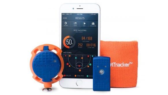 A smart gadget to analyze your basketball shots