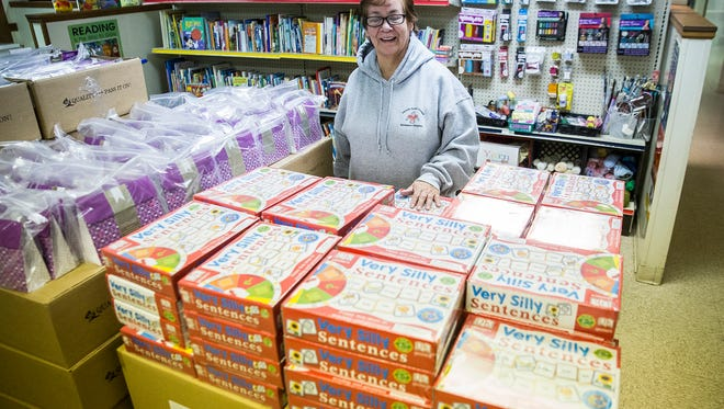 The Teacher Store recently became part of a national partnership, the first shipment of which brought more than $300,000 worth of school supplies to the Madison Street shop in the last few weeks.
