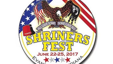 The 2017 ShrinersFest Button