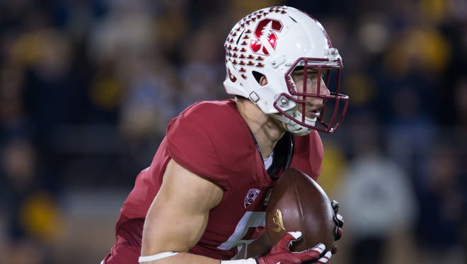 Stanford sophomore Christian McCaffrey is a threat to score every time he touches the ball.