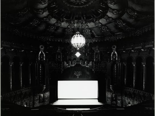 Hiroshi Sugimoto's time-lapse picture of an entire