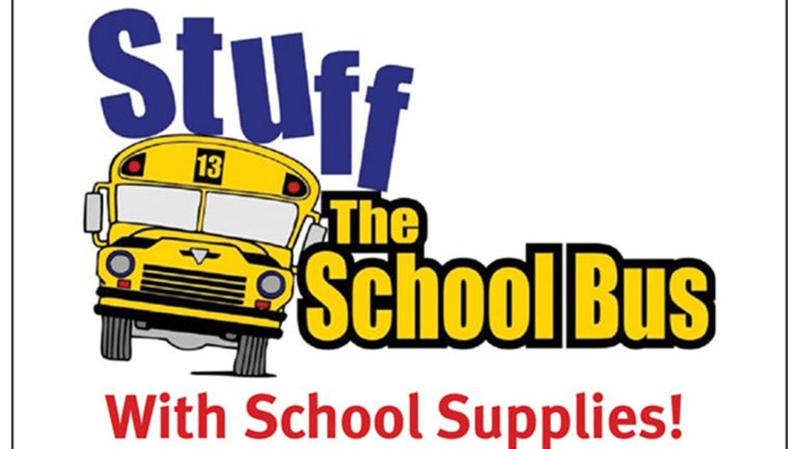 Daily Tribune Collecting School Supplies