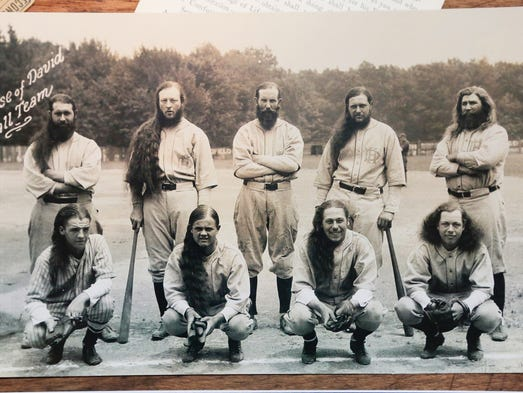 Historic photos of the House of David baseball team
