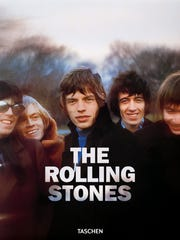 """""""The Rolling Stones"""" from Taschen, $150."""