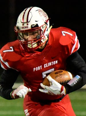 Port Clinton's Emerson Lowe is the News Herald/News-Messenger player of the year.